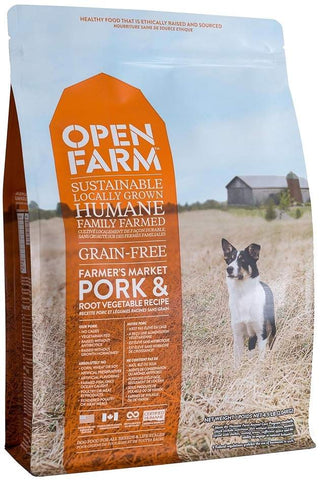 Open Farm Grain Free Farmer's Market Pork and Root Vegetable Recipe Dry Dog Food 4.5lb