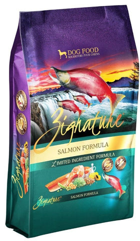 Zignature Grain-Free Salmon Limited Ingredient Formula Dry Dog Food 4lbs