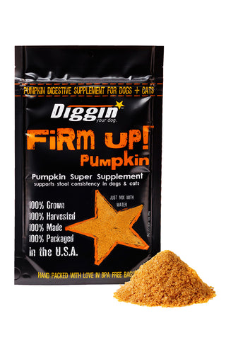FiRM UP! Dog Original Pumpkin Super Supplement 4oz
