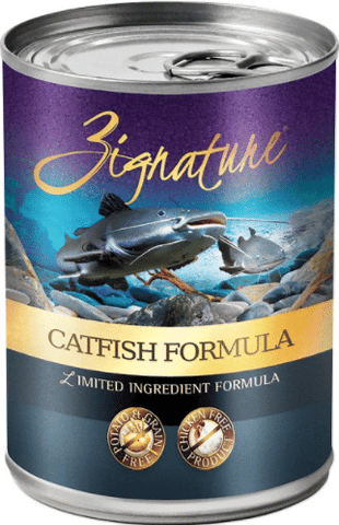Zignature Grain-Free Catfish Limited Ingredient Formula Canned Dog Food 13oz
