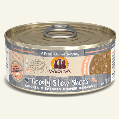 Weruva Goody Stew Shoes Canned Cat Food 5.5 oz