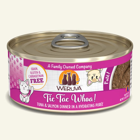 Weruva Tic Tac Whoa! Canned Cat Food 5.5oz