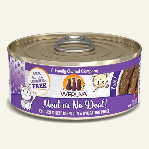 Weruva Meal or No Deal! Canned Cat Food 5.5oz