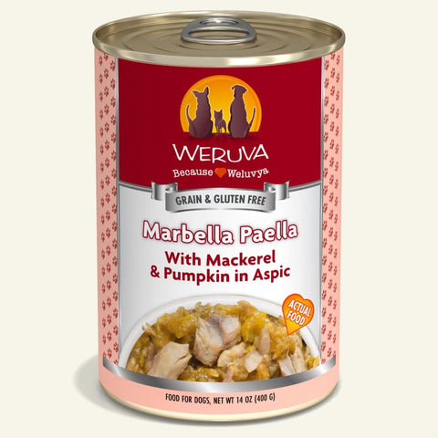Weruva Marbella Paella Canned Dog Food 14oz