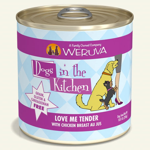 Weruva DITK Love Me Tender Canned Dog Food 10 oz
