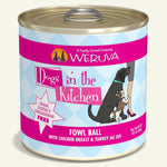 Weruva DITK Fowl Ball Canned Dog Food 10 oz