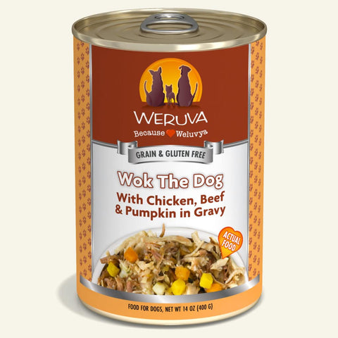 Weruva Wok The Dog Canned Dog Food 14oz
