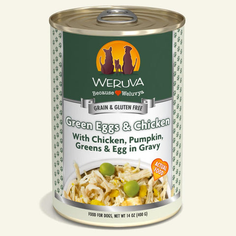 Weruva Green Eggs & Chicken Canned Dog Food 14oz