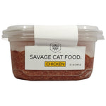 SAVAGE CAT CHICKEN TUB 12 OZ