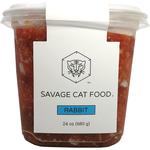 SAVAGE CAT RABBIT TUB 24 OZ