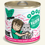 Weruva  BFF Tuna & Pumpkin Valentine Canned Cat Food 10 oz, Case of 12