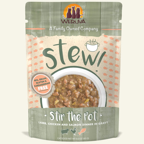 Weruva Stir the Pot Cat Food Stew Pouch 3oz