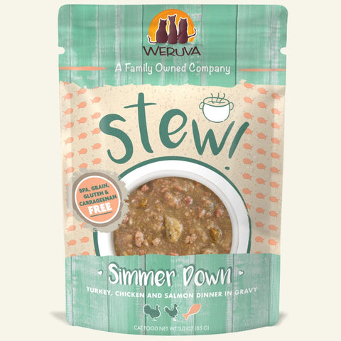 Weruva Simmer Down Cat Food Stew Pouch 3oz