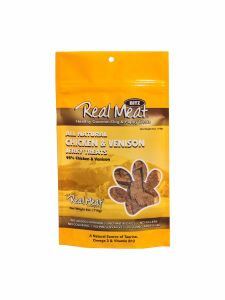 Real Meat All Natural Chicken & Venison Jerky Treats 4oz