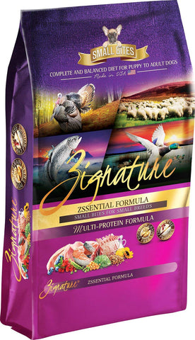 Zignature Zssential Formula Small Bites Dry Dog Food 13.5lb