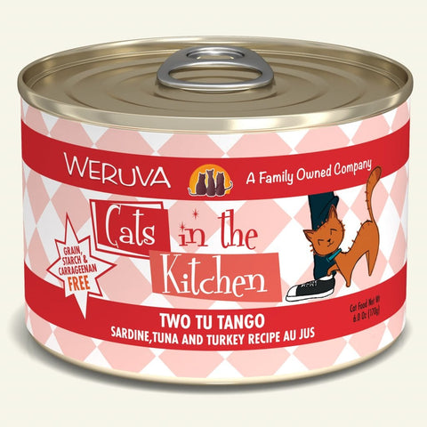 Weruva CITK Tu Two Tango Canned Cat Food 6oz