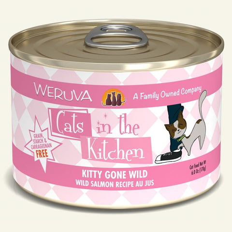 Weruva CITK Kitty Gone Wild Canned Cat Food 6oz