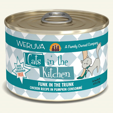 Weruva CITK Funk in the Trunk Canned Cat Food 6oz