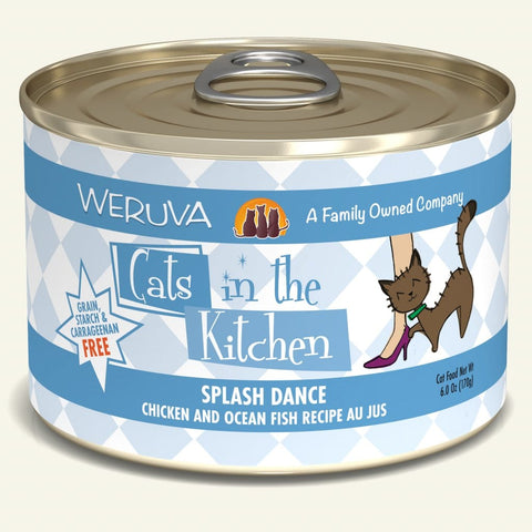 Weruva CITK Splash Dance Canned Cat Food 6oz