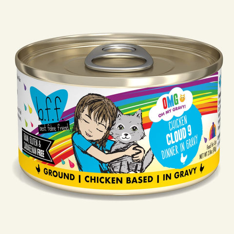 Weruva BFF OMG Chicken Cloud 9 Canned Cat Food 5.5 oz