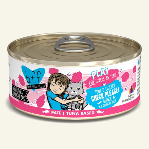 Weruva BFF PLAY Tuna & Chicken Check Please! Canned Cat Food 5.5oz