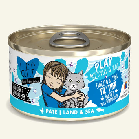 Weruva BFF PLAY Chicken & Tuna Til' Then Canned Cat Food 5.5oz