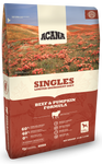 ACANA SINGLES LIMITED INGREDIENT DIET GRAIN FREE BEEF & PUMPKIN DRY DOG FOOD 12oz Sample