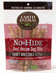 EARTH ANIMAL DOG NO-HIDE BEEF STIX TREAT 10 Pack