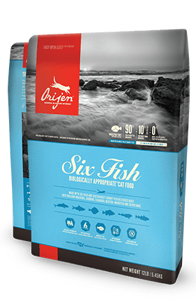 Orijen Six Fish Cat 4 lb