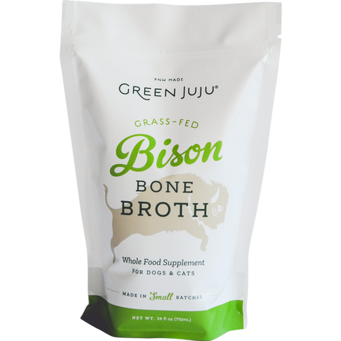 Green Juju Bison Bone Broth 24oz (PICK UP IN STORE ONLY)