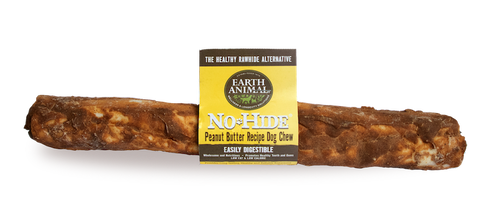 EARTH ANIMAL DOG NO-HIDE PEANUT BUTTER LARGE CHEW TREAT 7in