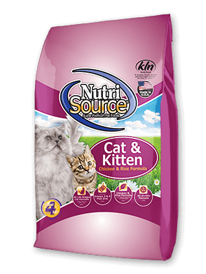 Nutri Source Cat & Kitten Chicken and Rice Cat Food 1.5 lb