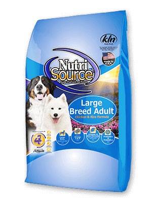 NutriSource Adult Large Breed Chicken and Rice Dry Dog Food 30lb