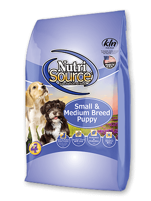 NutriSource Small and Medium Breed Puppy Chicken and Rice Dry Dog Food 15lb