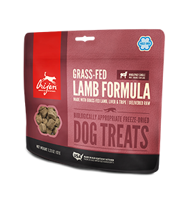 Orijen Grass Fed Lamb  Freeze Dried Dog Treats 3.25 oz