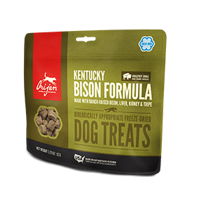 Orijen Kentucky Bison Freeze Dried DogTreats 3.25 oz