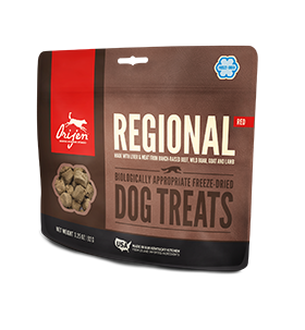 Orijen Regional Red Freeze Dried Dog Treats 3.25 oz