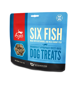 Orijen Six Fish Freeze Dried Dog Treats 3.25 oz