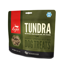 Orijen Tundra Dog Freeze Dried Treats 3.25 oz