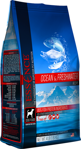 Essence Ocean & Freshwater Recipe Grain-Free Dry Dog Food 12.5LB