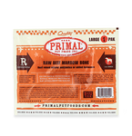 PRIMAL RAW RECREATIONAL BEEF MARROW BONES - LARGE
