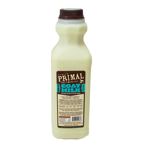 PRIMAL 32 OZ ( 946 ML) RAW GOAT MILK