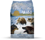 Taste Of The Wild Pacific Stream Canine Recipe with Smoked Salmon 28 lb