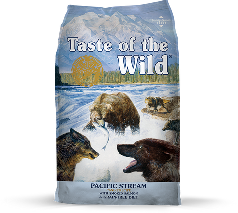 Taste Of The Wild Pacific Stream Canine Recipe with Smoked Salmon 5 lb