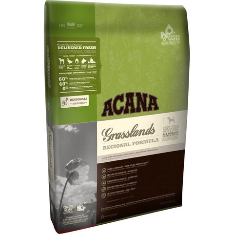 ACANA REGIONALS GRASSLANDS FORMULA GRAIN FREE DRY DOG FOOD 25lb