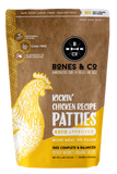 BONES & CO KICKIN' CHICKEN RECIPE PATTIES 6lb (PICK UP IN STORE ONLY)