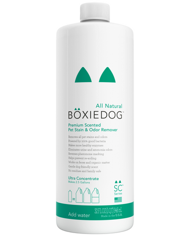 Boxiedog Premium Scented Stain & Odor Remover - Ultra Concentrate 4oz