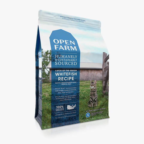 Open Farm Catch-of-the-Season Whitefish Dry Cat Food 4 lb