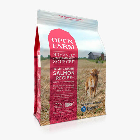 Open Farm Wild-Caught Salmon Dry Dog Food 24 lb