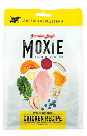 Grandma Lucy's Moxie Chicken Freeze-dried Dog Food 8 oz